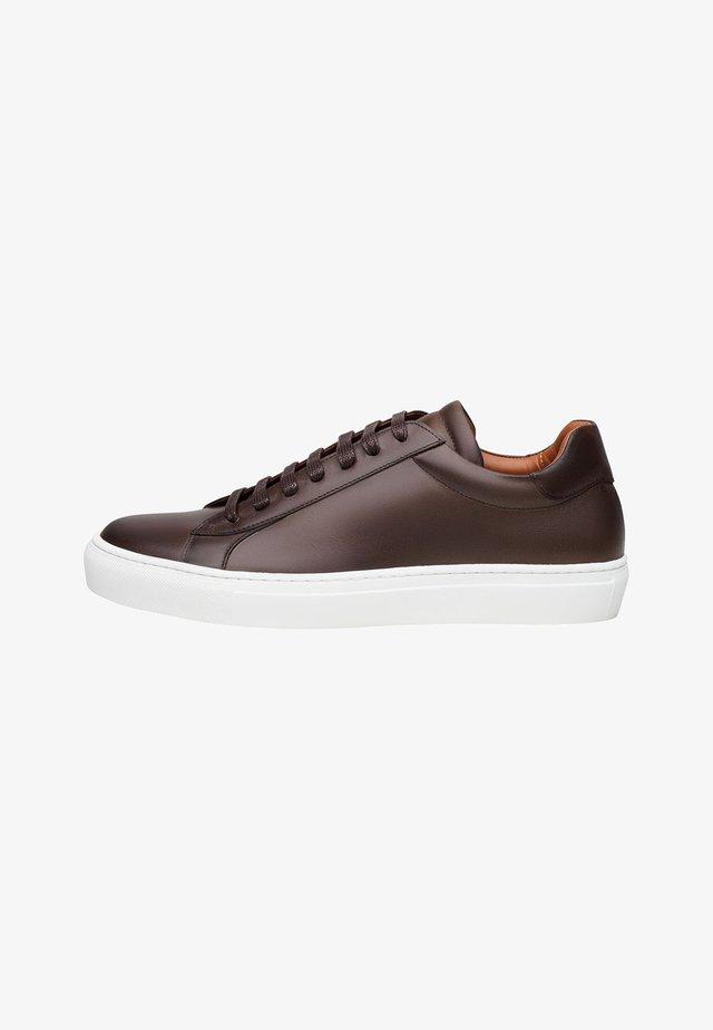 Sneaker low - dunkelbraun