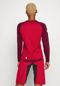 Zimtstern - PUREFLOWZ  - Funktionsshirt - jester red/windsor wine/fog green - 2