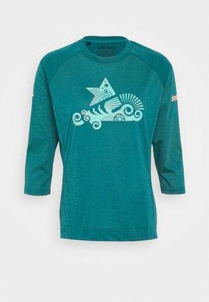 PUREFLOWZ 3/4 - Funktionsshirt - pacific/florida keys/living coral