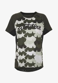 Zimtstern - TECHZONEZ - T-Shirt print - fog green/forest night/jester red - 3