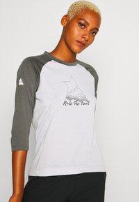 Zimtstern - PUREFLOWZ 3/4 - Sports shirt - glacier grey/gun metal/blush - 4