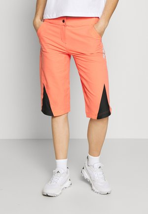STAR FLOWZ SHORT  - kurze Sporthose - living coral/black