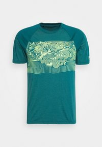 Zimtstern - MAORITZ TEE MENS - T-Shirt print - pacific/sharp green - 3