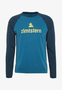 Zimtstern - PURE FLOWZ MEN - Sports shirt - blue steel/french navy/mimosa - 3