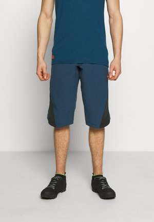 STARFLOWZ SHORT MEN - kurze Sporthose - french navy/pirate black
