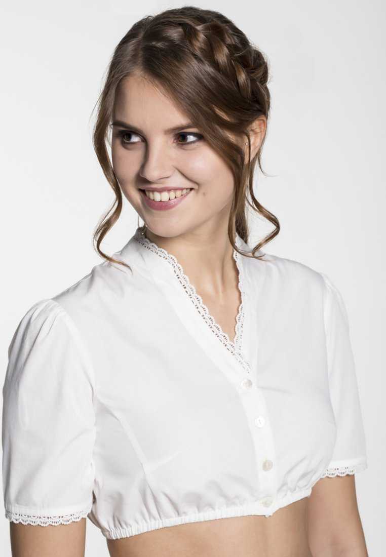 Spieth & Wensky - GELDORA - Bluse - beige