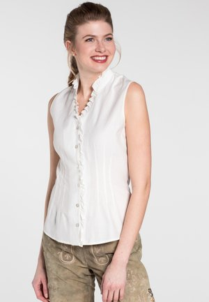 KLARINETTE - Button-down blouse - beige