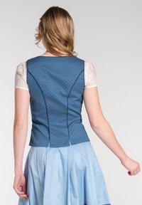 Spieth & Wensky - NEKTARINE - Bluse - dark blue - 1