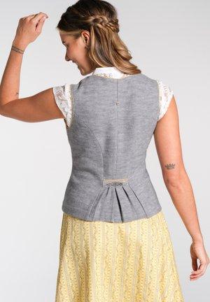 NICOSIA-MIEDER E - Waistcoat - grey
