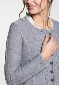 Spieth & Wensky - BONN - Strickjacke - light grey - 3