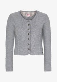 Spieth & Wensky - BONN - Strickjacke - light grey - 4