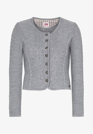 BONN - Strickjacke - light grey