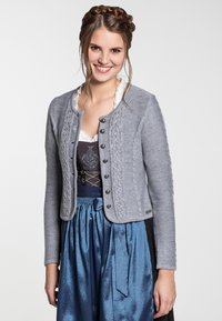 Spieth & Wensky - BONN - Strickjacke - light grey - 0