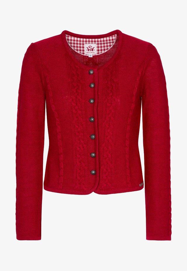 BONN - Cardigan - red