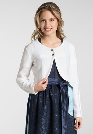 MANDOLINE - Strickjacke - white