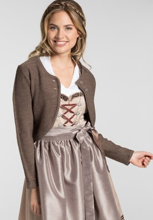 MANDOLINE - Strickjacke - brown