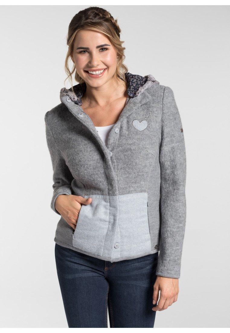 Spieth & Wensky - MAGNOLIE - Cardigan - light gray