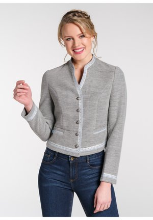NACHTIGALL - Strickjacke - grey