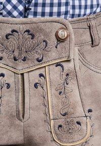 Spieth & Wensky - GUNDA  - Leather trousers - light brown - 2