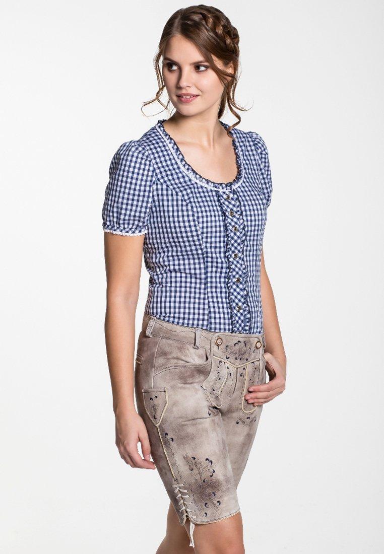Spieth & Wensky - GUNDA  - Leather trousers - light brown