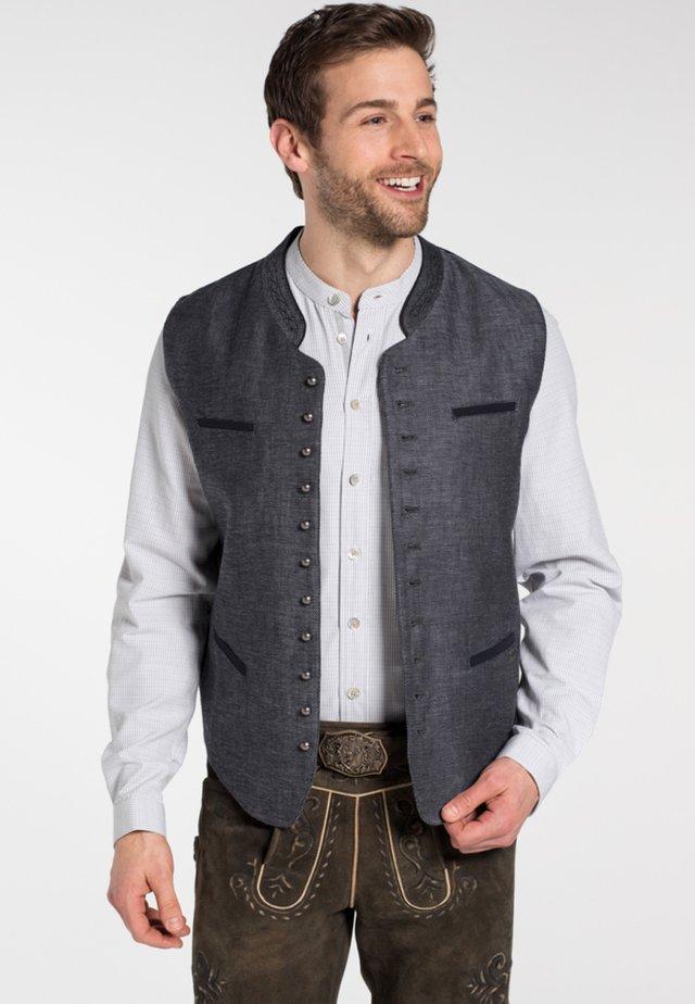 KUR - Waistcoat - dark grey