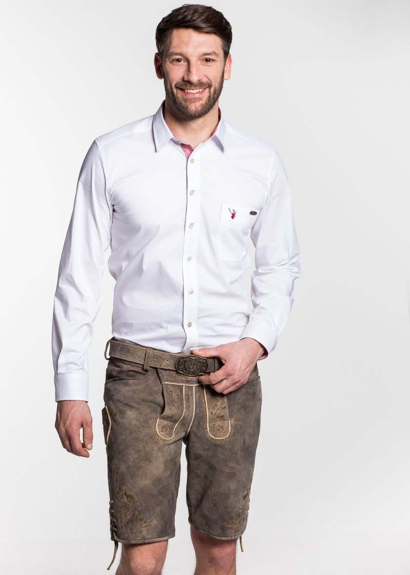 Spieth & Wensky - ADONIS - Leather trousers - braun
