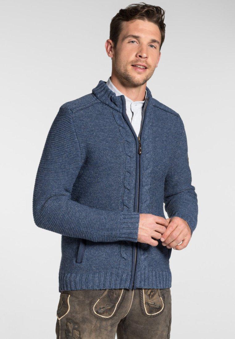 Spieth & Wensky - MERZEN - Zip-up hoodie - dark blue
