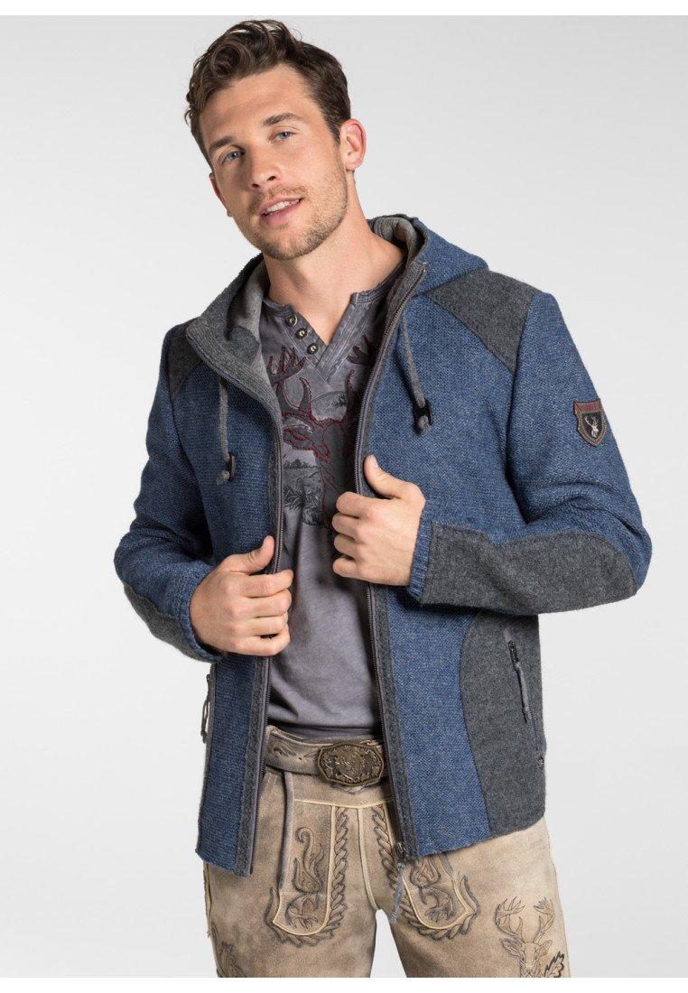 """Spieth & Wensky - """"MARBURG"""" - Zip-up hoodie - dark blue"""