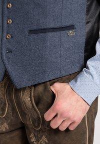 Spieth & Wensky - KIESEL - Waistcoat - blue - 2