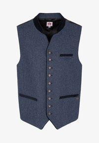 Spieth & Wensky - KIESEL - Waistcoat - blue - 4