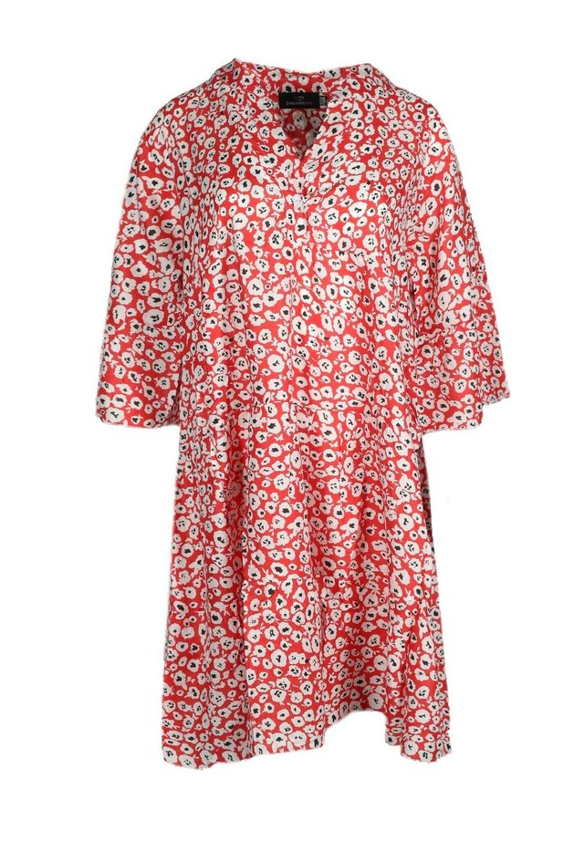 Day dress - rot/weiß