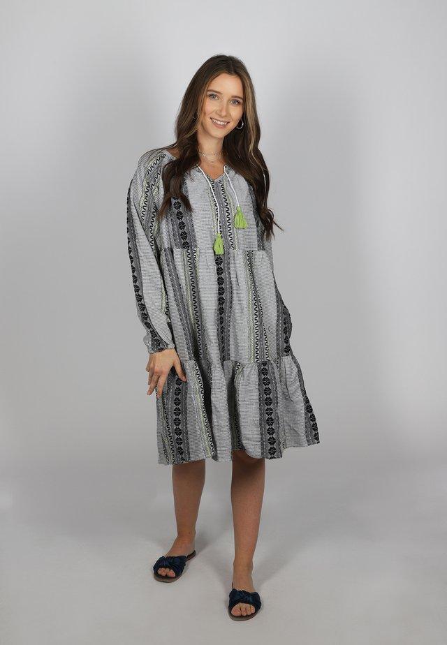 MARIEKE - Day dress - grau/grün