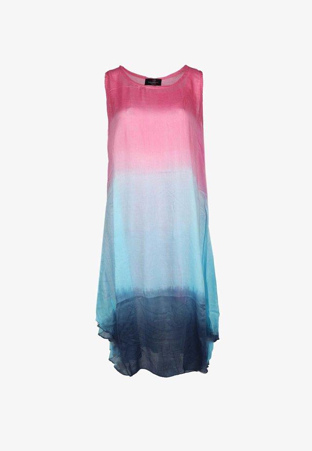BATIK - Day dress - pink/türkis