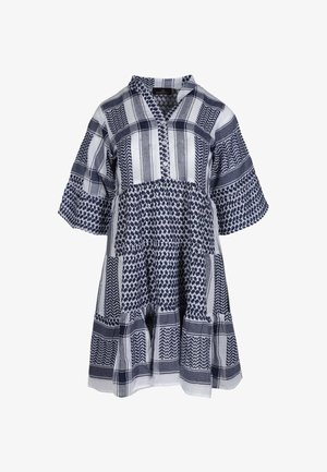 JOLEEN - Shirt dress - blau