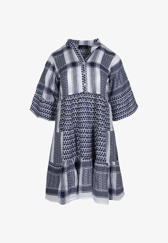 JOLEEN - Shirt dress - blau