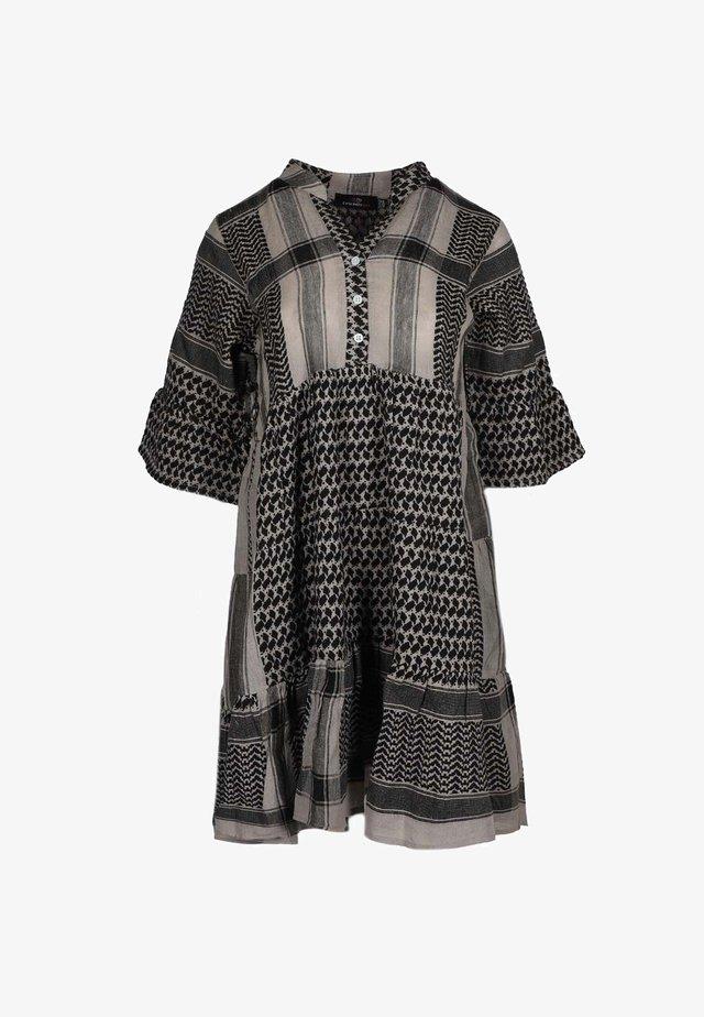 JOLEEN - Shirt dress - schwarz