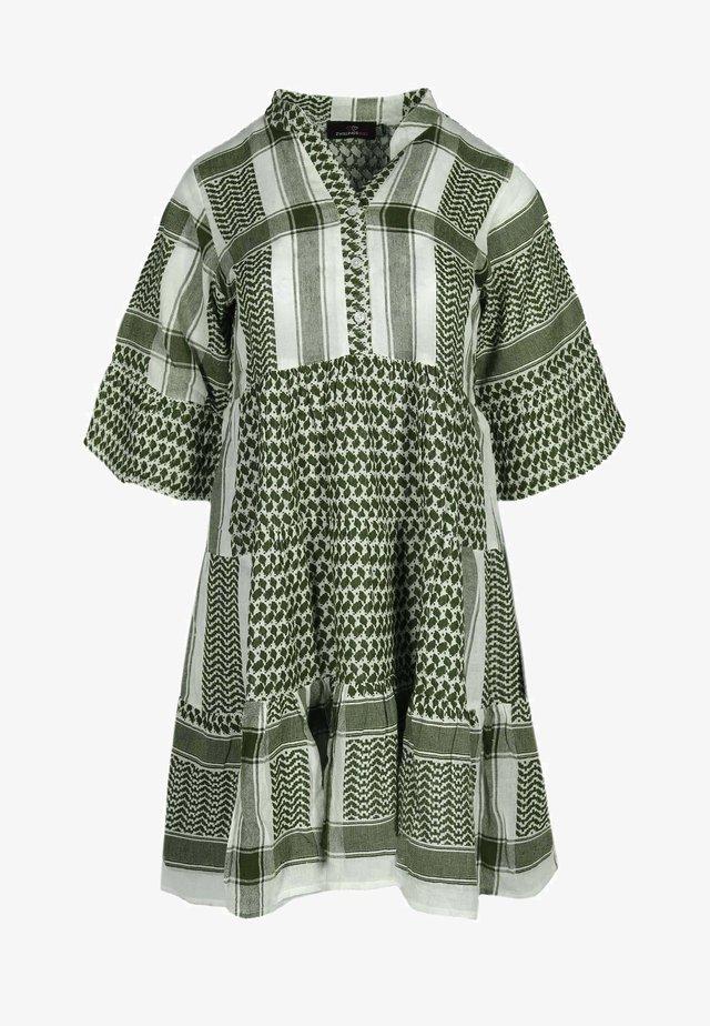 JOLEEN - Day dress - grün