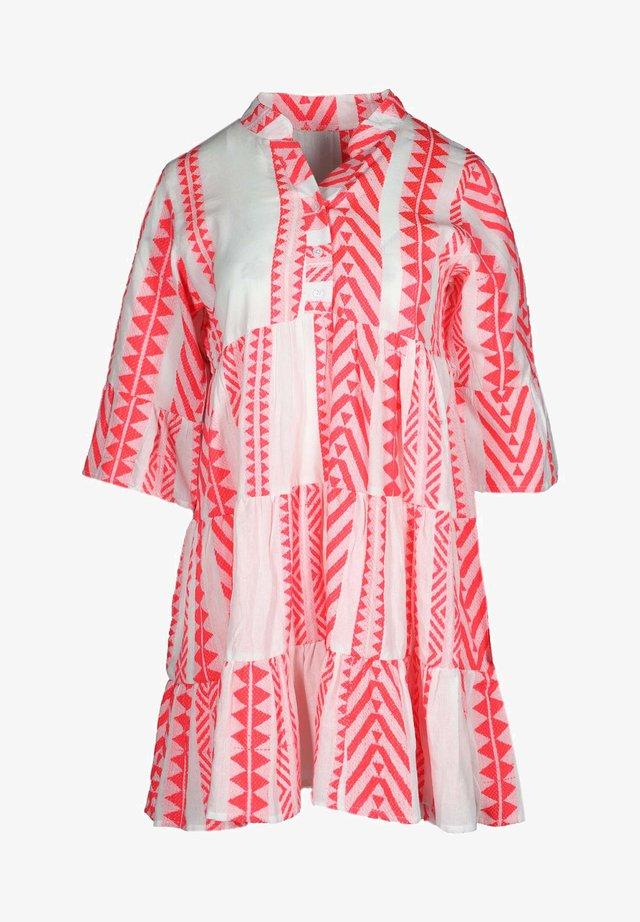AMALIA - Shirt dress - pink