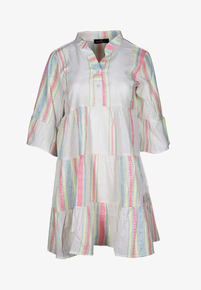 Day dress - weiß/neon