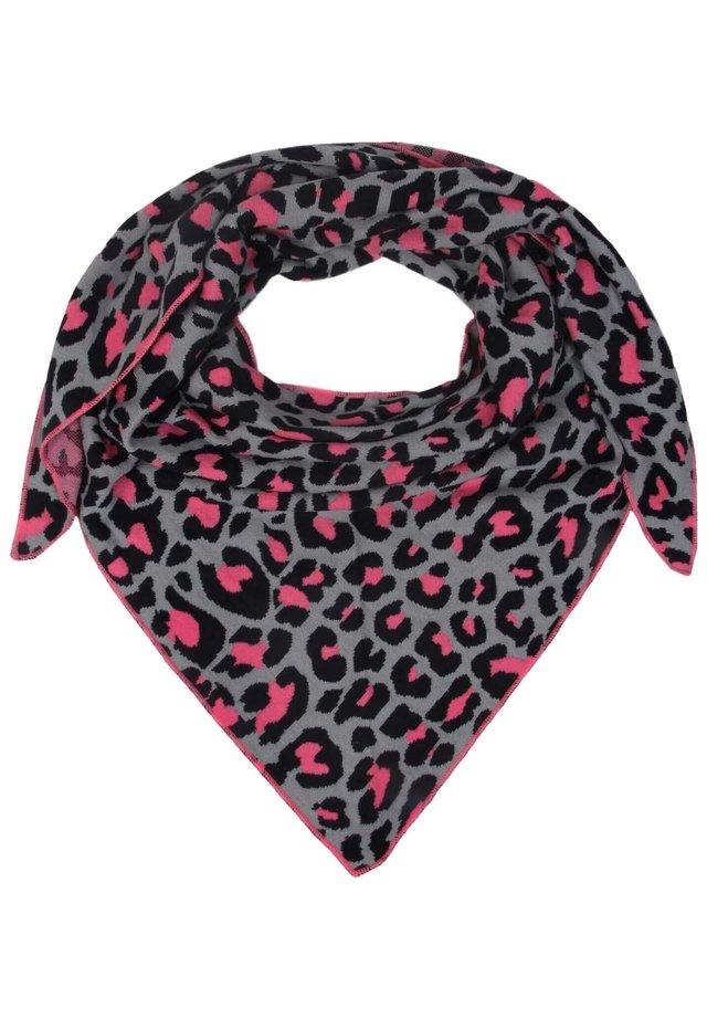 Foulard - grau pink