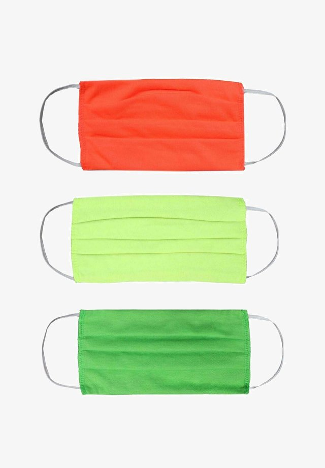 3 PACK - Community mask - gelb orange grün