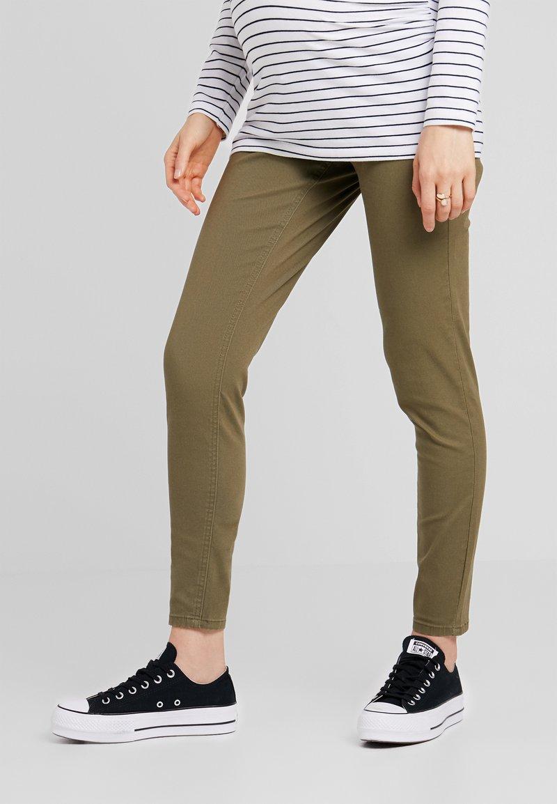 Zalando Essentials Maternity - Jeans Skinny Fit - burnt olive