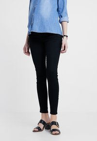 Zalando Essentials Maternity - Jeans Skinny Fit - black denim - 0