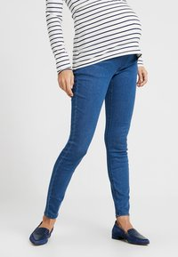Zalando Essentials Maternity - Jeans Skinny Fit - blue denim - 0