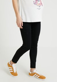 Zalando Essentials Maternity - Skinny-Farkut - black denim - 0