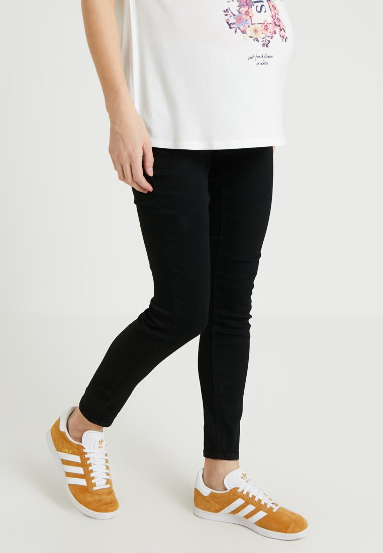 Zalando Essentials Maternity - Skinny-Farkut - black denim