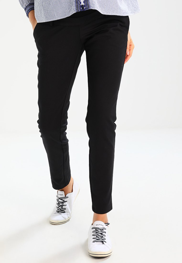 Zalando Essentials Maternity - Spodnie materiałowe - black