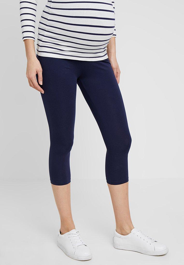 Zalando Essentials Maternity - 2 PACK - Leggings - black/dark blue