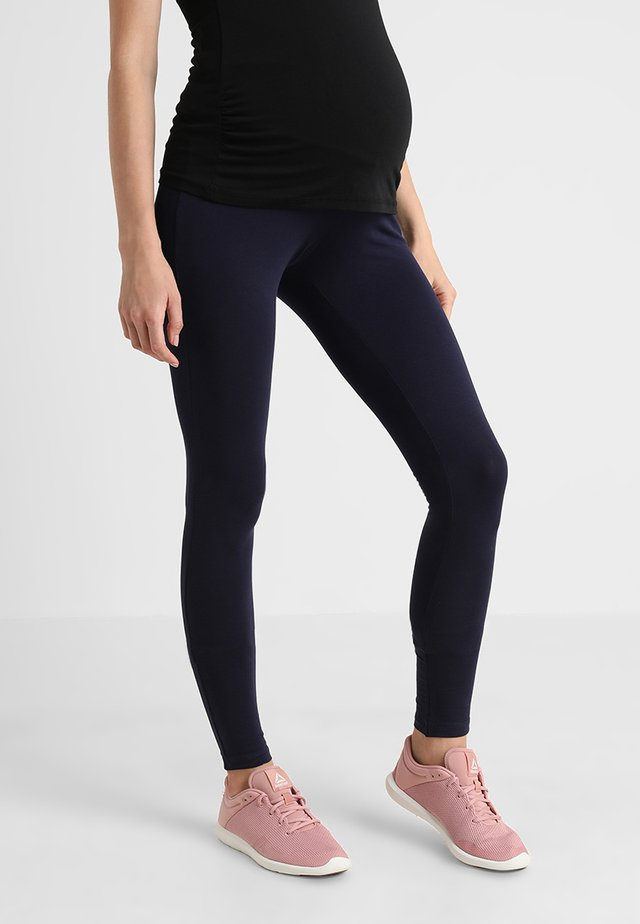 Leggings - darkblue