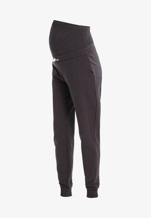 Teplákové kalhoty - dark grey melange